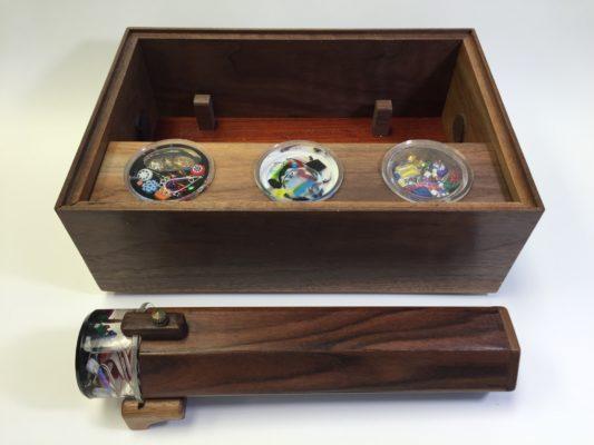 Walnut Magic Box
