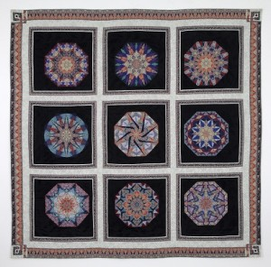 SP18_Nadelstern_Paula_KALEIDOSCOPIC III Stained Glass Anthology. 72x72. 1989. Whole Quilt. jpeg web